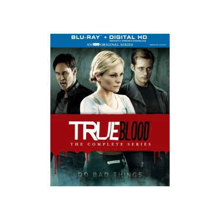 TRUE BLOOD-COMPLETE SERIES (BLU-RAY/DC/UV/7 SEASONS/32 DISC) - Series Recovery Disks