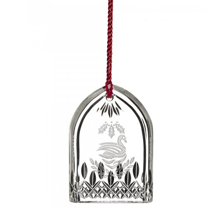 Waterford 12 Days of Christmas Seven Swans a Swimming Crystal Tree Ornament New ()