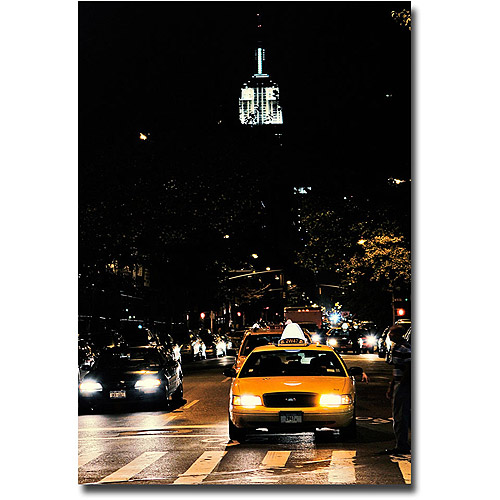 "Trademark Fine Art ""Empire State of Mind"" Canvas Wall Art by Ariane Moshayedi"