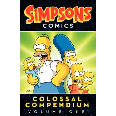Simpsons Comics Colossal Compendium Volume 1 - The Last Halloween Comic