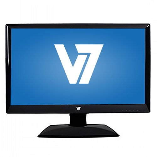 "Refurbished V7 21.5"" LED Widescreen Monitor (RA0944 Black)"