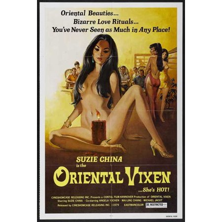 Oriental Vixen POSTER Movie Mini Promo - Teen Vixen