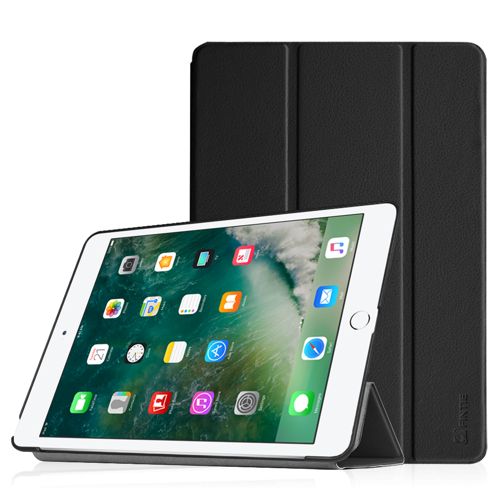 Fintie iPad 9.7 Inch 2018 / 2017 Case, SlimShell Cover for iPad 6th Gen / 5th Gen /iPad Air 2 / iPad Air, Black