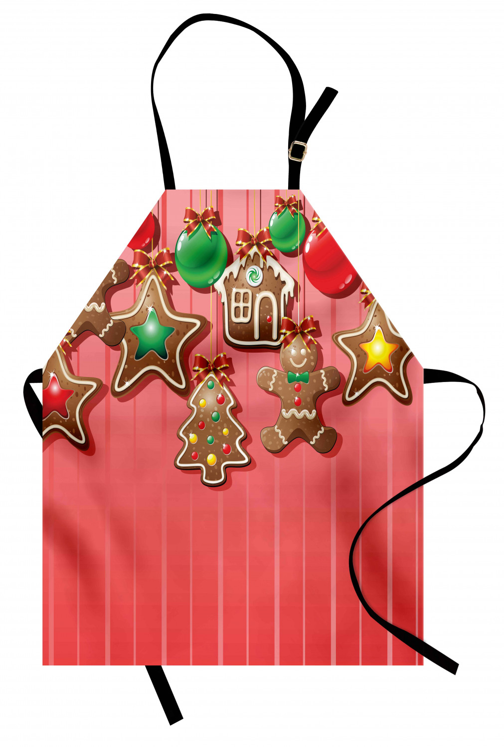Gingerbread Cookie Ambesonne Kids Smock Painting Apron S