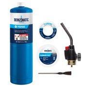 Bernzomatic Basic Trigger Start Torch Plumbing Kit WPK3201