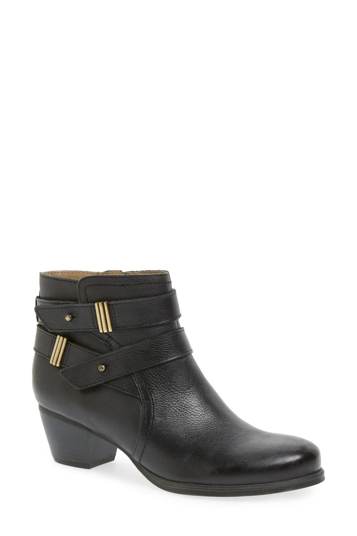 Naturalizer Womens Kepler Leather Closed Toe Ankle Fashion Boots by Naturalizer