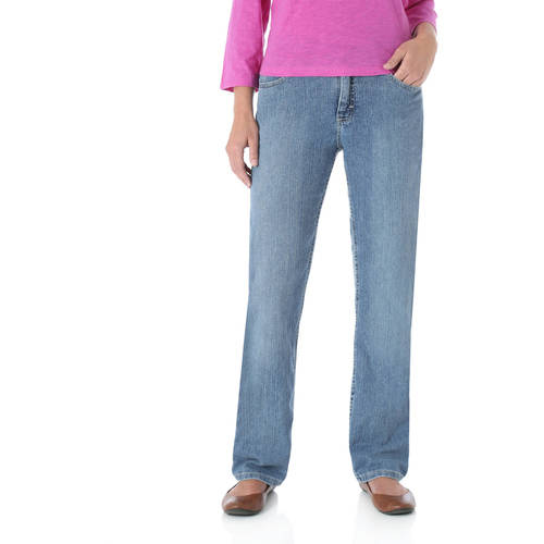 The Riders By Lee Women's Classic Fit Straight Leg Jeans Available in Regular, Petite, and Long Lengths