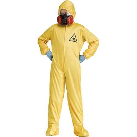 Hazmat Suit Costume, Medium 8-10 - Hazmat Costumes