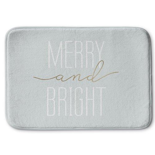 KAVKA DESIGNS Merry and Bright Bath Rug
