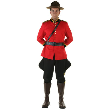 Men's Canadian Mountie Costume - Walmart Canada Halloween Sale