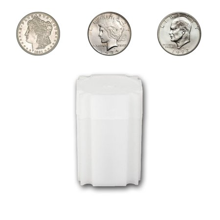 Large Tube (CoinSafe Large Silver Dollar Tube - Each Tube Holds 20ea 38mm Morgan, Peace & Ike Silver Dollar)