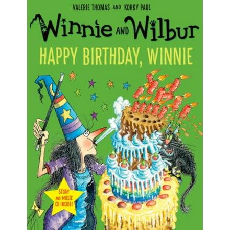 WINNIE WILBUR HAPPY BIRTHDAY PB CD - Happy Halloween Winnie