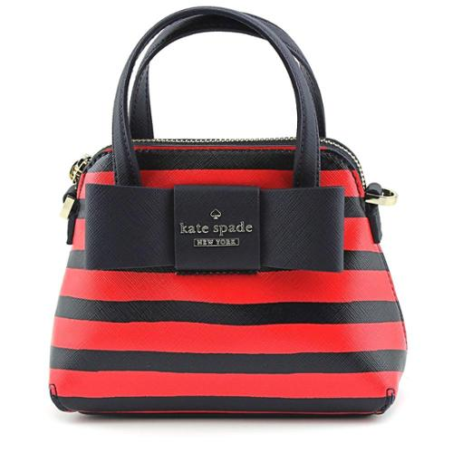 Kate Spade Julia Street Stripe Mini Maise Cross Body Bag