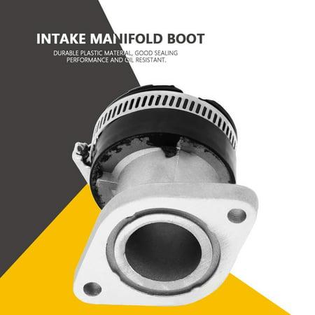 Anauto Carburetor Carb Intake Manifold Boot Joint for Yamaha Bear Tracker 250 1999-2004, Intake Boot for Yamaha, Intake Manifold