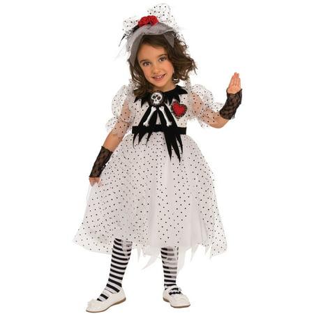 Ghost Girl Child Costume - Girl Ghost