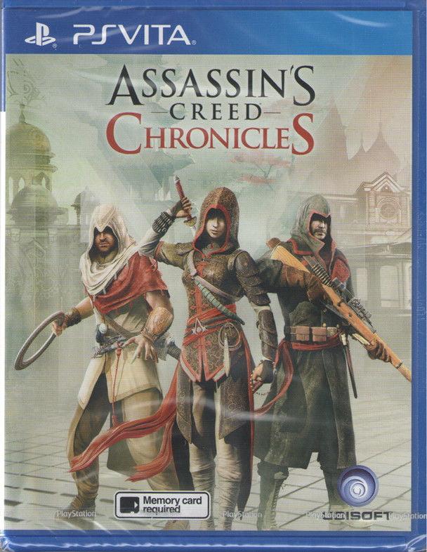 Assassins Creed Chronicles Ps Vita Asian Version Walmart Com