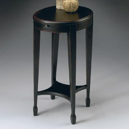Butler Arielle Plum Black Accent Table Butler Accent Tables