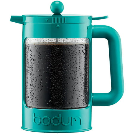 Bean Set Ice Coffee Maker, 1.5L, 51 oz, Turquoise