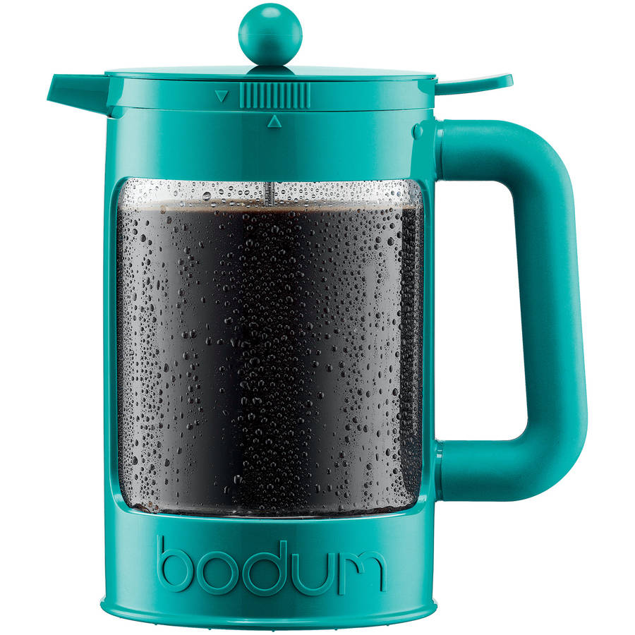 Bodum BEAN Iced Coffee Maker, Cold Brew Coffee Maker, 1.5 L, 51 Ounce (12 cup), Black