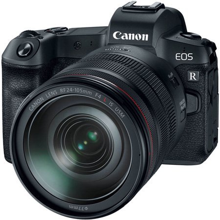 Canon EOSRKIT EOS R Mirrorless Digital Camera with 24-105mm Lens
