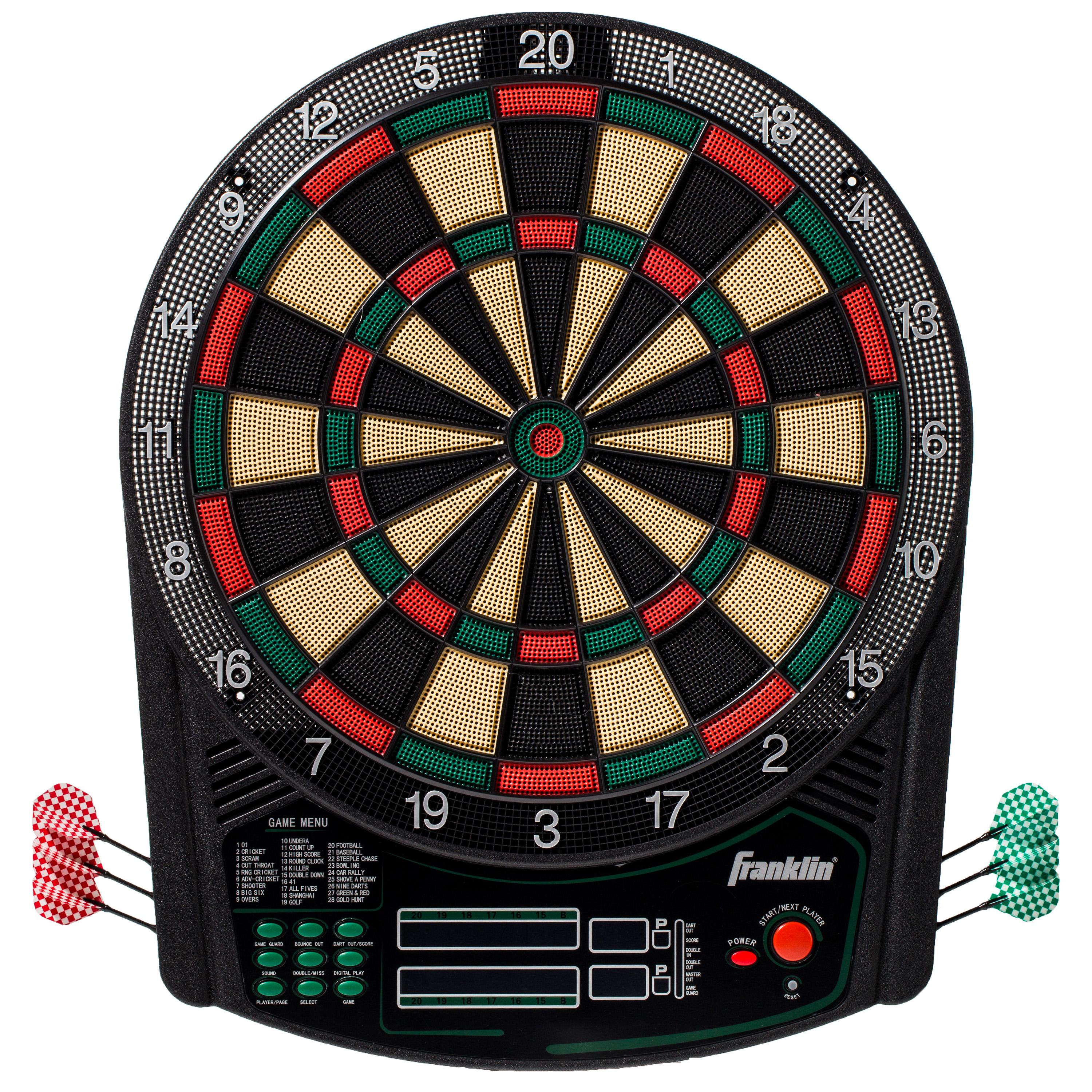 Franklin Sports FS6000 Tournament Sized Electronic Dartboard