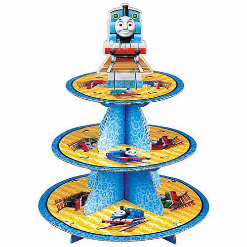 Wilton 3-Tier Treat Stand, Thomas & Friends 24 ct. 1512-4242