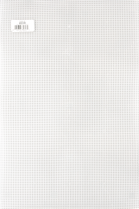Darice Bulk Buy Plastic Canvas 7 Count 6 inch Circle Clear 337816 12-Pack