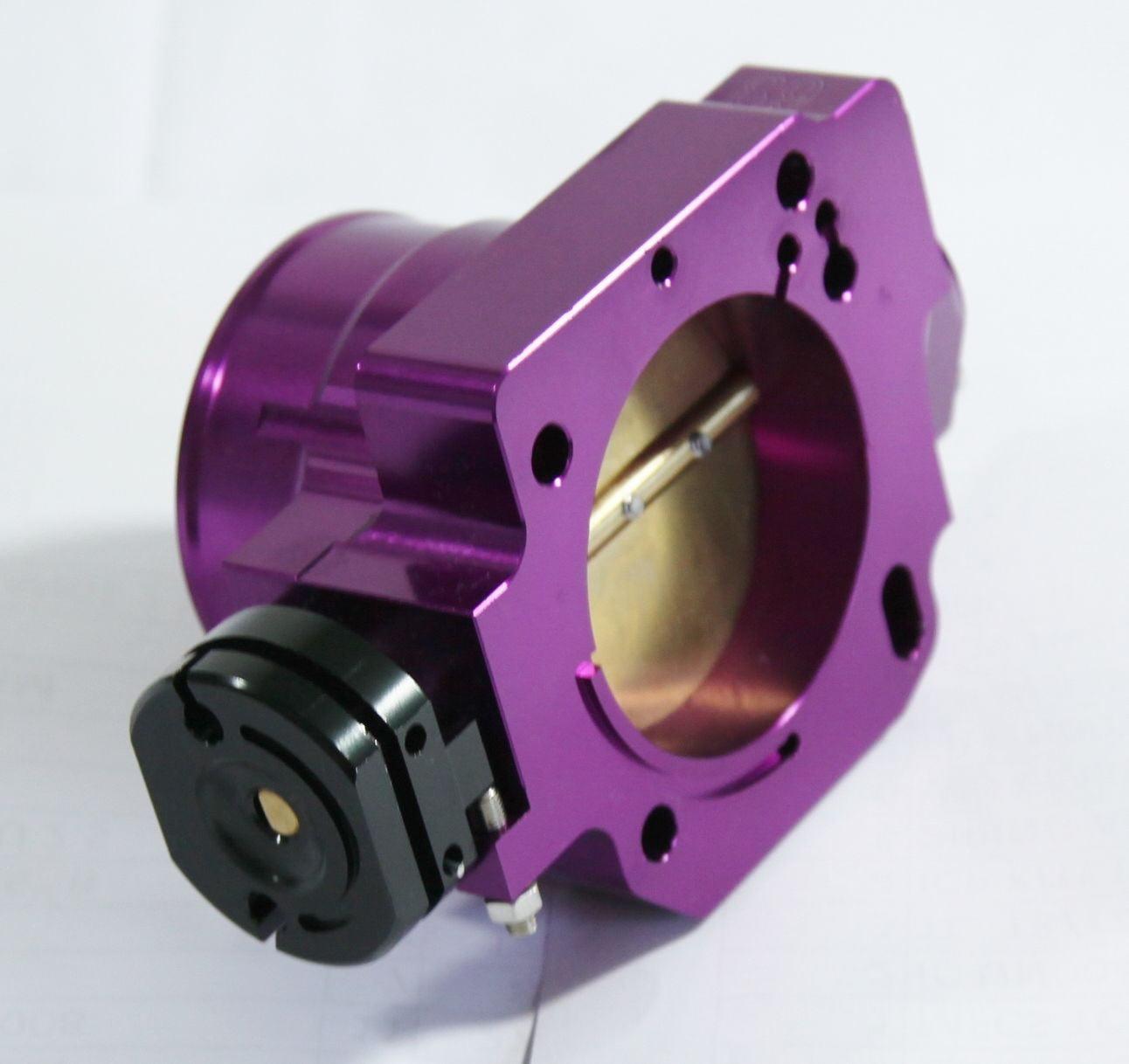 68MM Aluminum Throttle Body Purple for 88-00 Honda Civic D Series ONLY EF EG EK