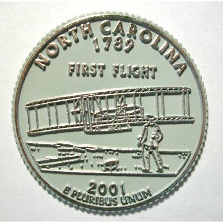 North Carolina State Quarter Fridge -
