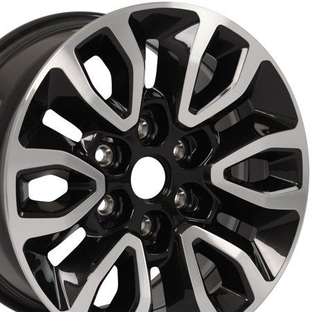 OE Wheels 17 Inch Fits Ford Expedition F150 Lincoln Mark LT Navigator Raptor FR72 Gloss Black Machined OEM 17x8.5 Rim Hollander 3891