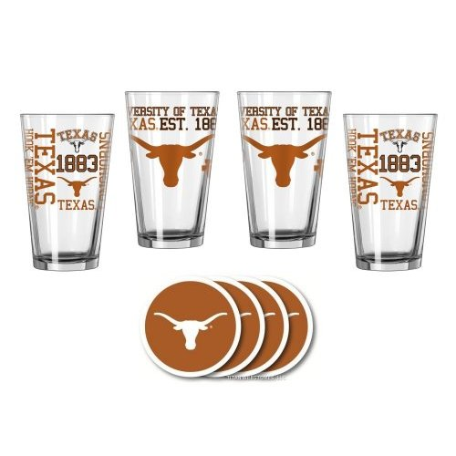 Texas Longhorns Spirit Glassware Gift Set