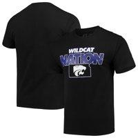 Men's Russell Athletic Black Kansas State Wildcats Slogan T-Shirt