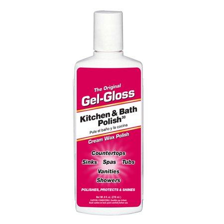 Gel- Gloss Original Kitchen and Bath Polish, 8 Ounce