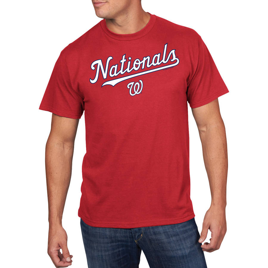 Men's MLB Washington Nationals Team Tee