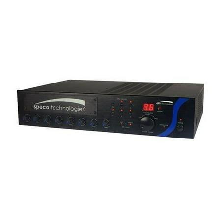 Pa Mixer Amplifier - 120W PA Mixer Amplifier with Module Bay