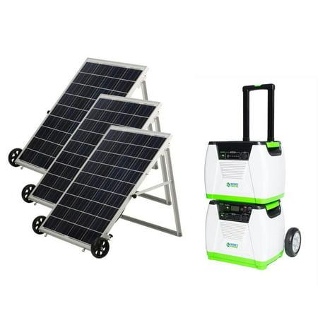 Natures Generator - 1800 Watt Solar Powered Portable Generator - Platinum