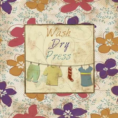 Wash Dry Press Poster Print By Piper Ballantyne