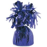 "Foil Balloon Weights 4.5""X2.25"" 6.2Oz-Purple"