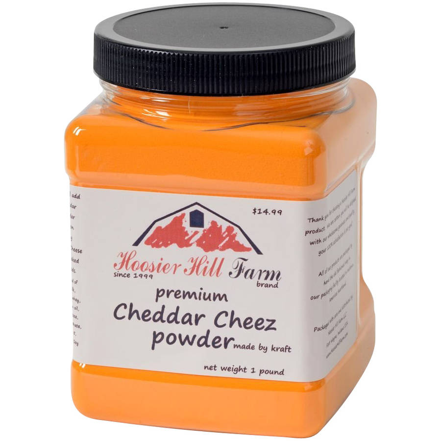 Hoosier Hill Farm Premium Cheddar Cheese Powder, 16 oz