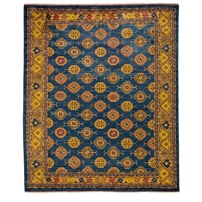 Solo Rugs One-of-a-kind Ersari Hand-knotted Area Rug 8' x 10'