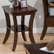 Jofran Joes Espresso Chairside Table