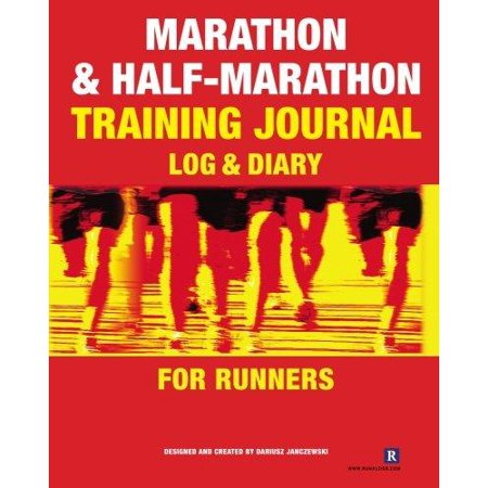 Marathon   Half Marathon Training Journal  Log   Diary For Runners