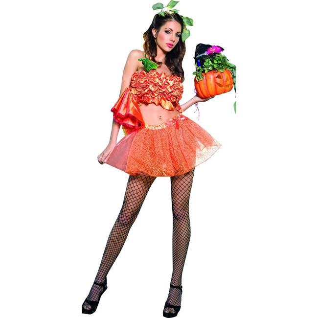 Music Legs 70103-ML 2 Piece Pumpkin Princess Costume, Medium & Large - image 1 de 1