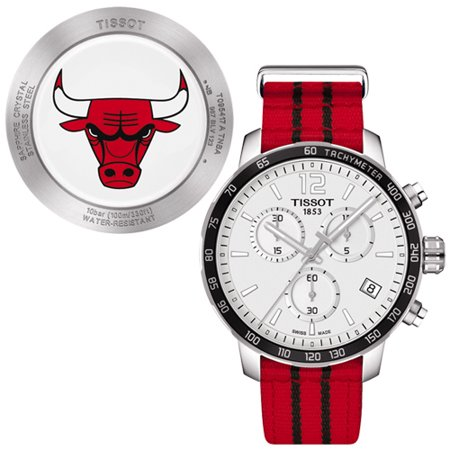 - Quickster Chicago Bulls NBA Special Edition Mens Watch T0954171703704