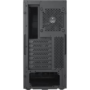 Plastic Compact ATX Mid Tower Case Corsair Carbide Series 200R Black Steel