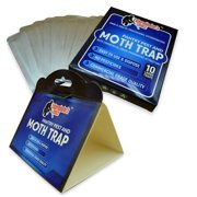 Professional Grade Pantry and Moth Traps with Pheromone Attractant - 10 Pack