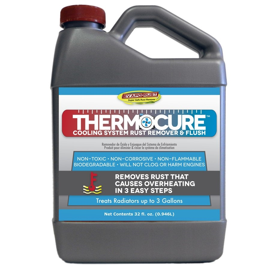 Thermocure™ Cooling System Rust Remover and Flush, Safely Removes the Rust from Cars Cooling System, 32 oz Bottle