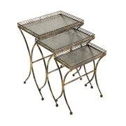 Simone Rectangle Side Tables - Set of 3