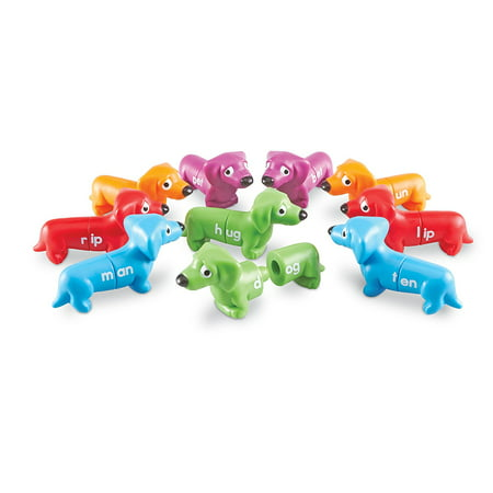 Learning Resources Snap-N-Learn Rhyming Pups Toy, Ages 5+
