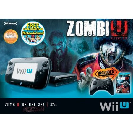 RefurbishedZombi U Deluxe Set Wii U Console